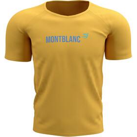 Compressport Training SS T-Shirt Mont Blanc 2021, żółty